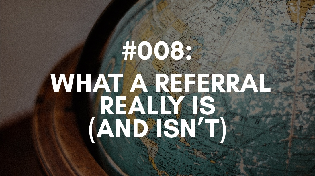 what is a referral