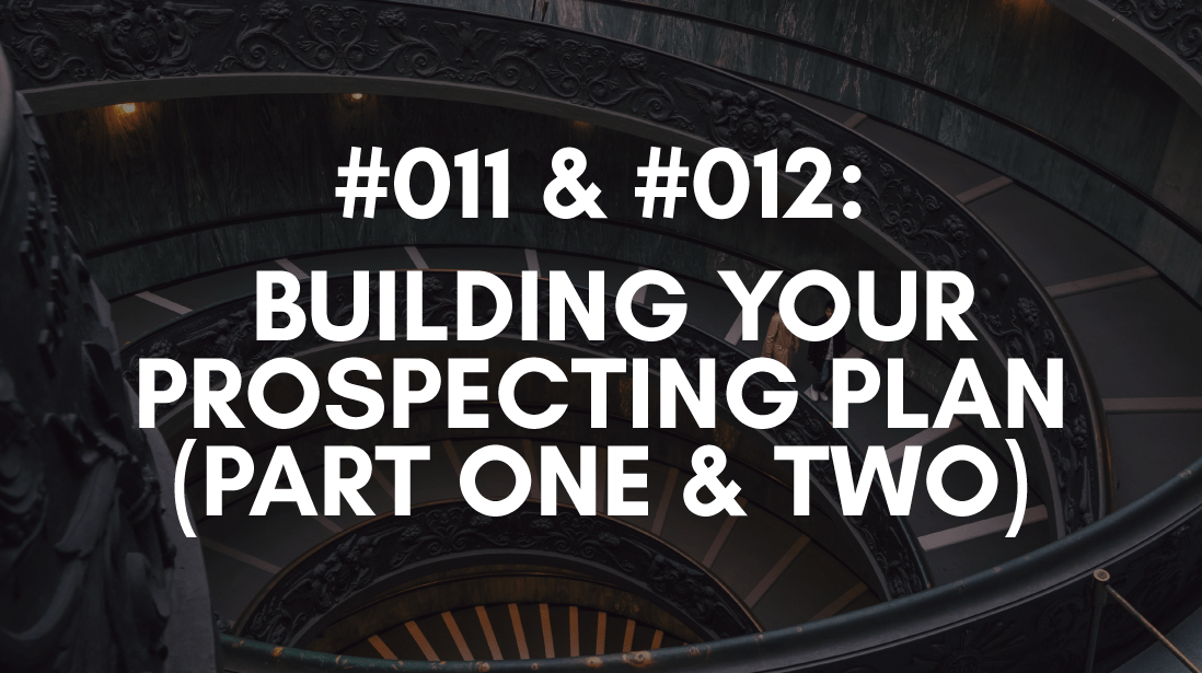 your prospecting plan is part of your sales plan