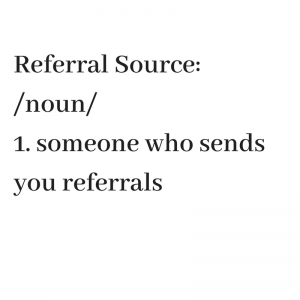 referral source definition